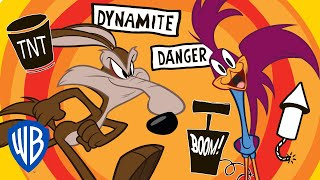 Looney Tunes | Wile E Coyote & Roadrunner Compilation | WB Kids