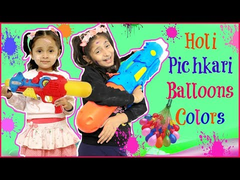 Top 10 Holi Pichkari, Balloons, Gadgets & Colors .. | #Playhouse #MyMissAnand #ToyStars
