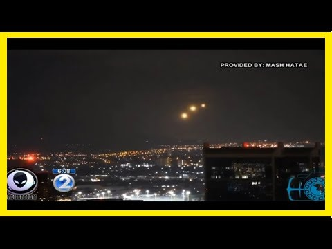 Breaking News   Mysterious lights spotted over hawaii [video]