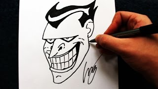Como Desenhar o Coringa [Animated Series] - (How to Draw Joker) - SLAY DESENHOS #169