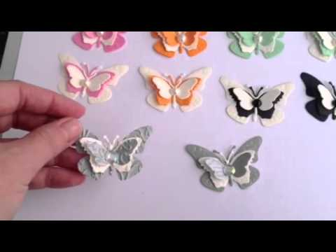 Handmade butterflies youtube for Fomic sheet decoration youtube