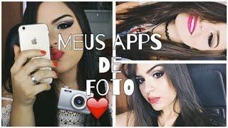 Meus apps de fotografia! ♥