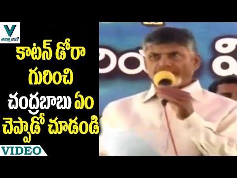 CM Chandrababu Naidu About Cotton Dora - Vaartha Vaani