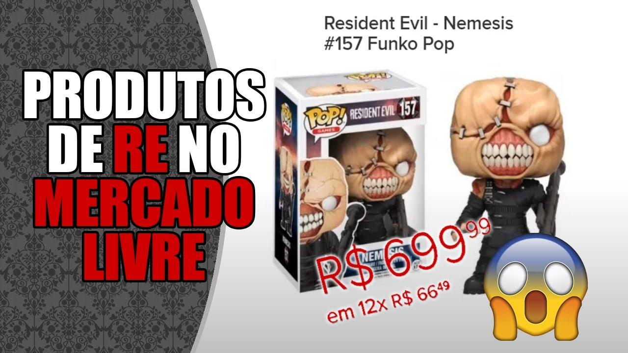Colecionismo: REagindo a PRODUTOS de Resident Evil no MERCADO LIVRE! 🤑