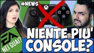 PS4 e XBOX ONE POTREBBERO ESSERE LE ULTIME CONSOLE, PER UBISOFT +  EA NEI GUAI #NEWS