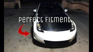 Vicrez Nismo v3 bumper install 350z