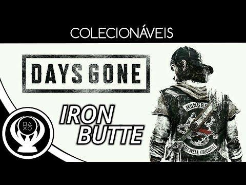 Days Gone - Iron Butte (Sermões Do RIP, Personagens, Turismo, Intel. Da Nero & Melhorias)