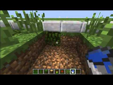 how to make garden in minecraft