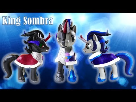Good and Evil King Sombra Split Pony Transformation My Little Pony Custom