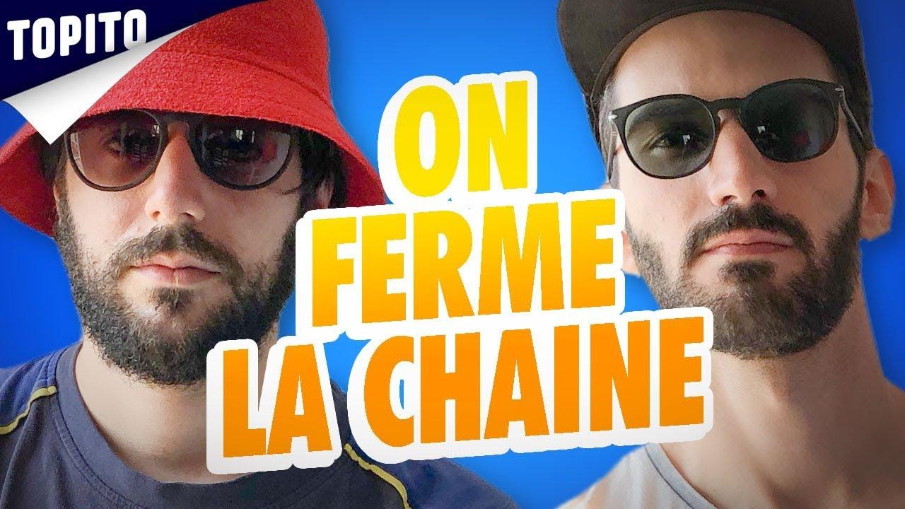 ANNONCE : ON FERME LA CHAINE