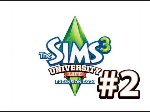 The Sims 3: University Life - НАКОЛДОВЫВАЕМ ДИПЛОМ - 2 Серия