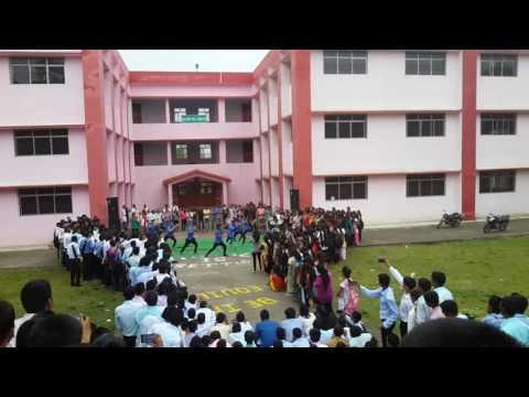 Mind blowing dance by arts club at Bit sindri