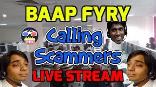 🔵 Fyry \u0026 Friends 📞Calling Scammers Live - Scam Baiting Prank Calls #funny #scambait #prank #bait