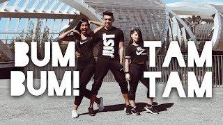 Baixar BUM BUM TAM TAM - Mc Fioti Future J Balvin, Stefflon Don, Juan Magan   Zumba (Coreografía) 2018
