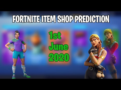 1st June 2020 - Fortnite Item Shop Prediction