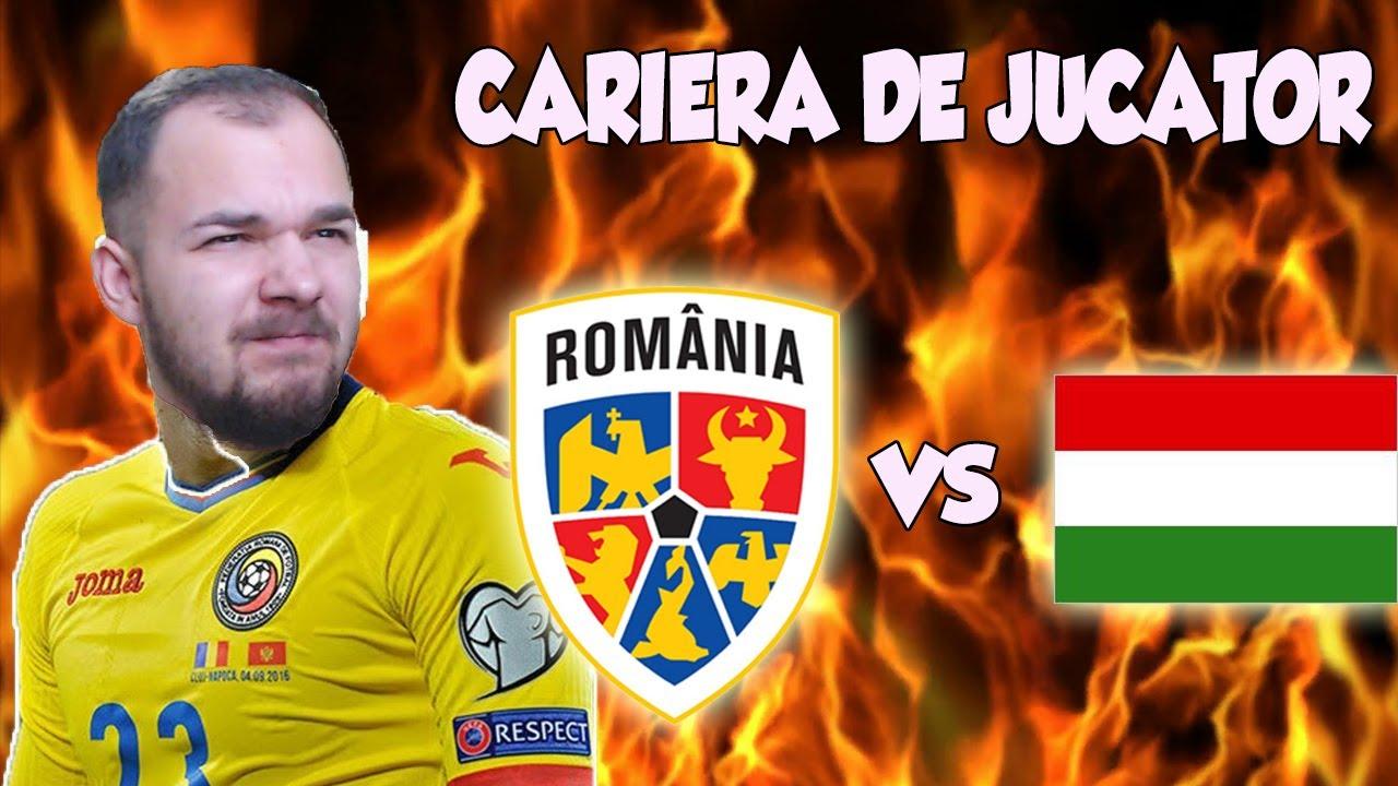 MECI INCENDIAR ROMANIA VS UNGARIA CU GIANY LA CONDUCERE ! FIFA 20 CARIERA DE JUCATOR #12