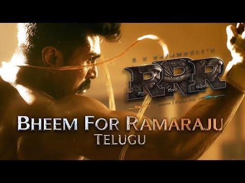 Bheem For Ramaraju - RRR (Telugu) | Happy Birthday Ram Charan | NTR, Ajay Devgn