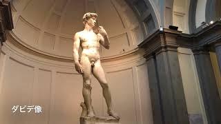 【イタリア】フィレンツェのアカデミア美術館にてミケランジェロ作品のダビデ像を見る #3