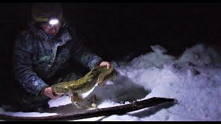 Закрываем сезон рыбалки на НАЛИМА  Трудовая рыбалка  Часть 1  Мороз и ветер - это ЖЕСТЬ !!!