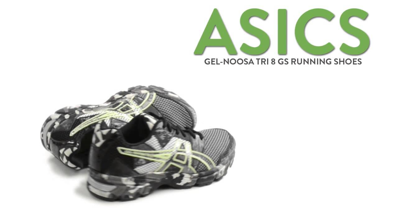 5528acffeff4 Asics Gel-Noosa Tri 8 GS Running Shoes (For Kids and Youth) - YouTube