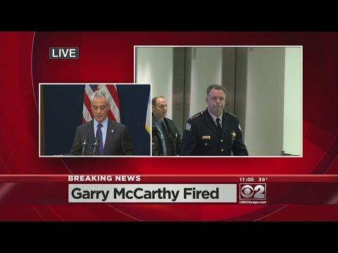 Mayor Emanuel Fires Police Supt. Garry McCarthy