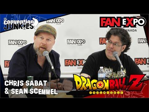 Sean Schemmel & Chris Sabat Dragon Ball  eXpo Canada 2017 Panel