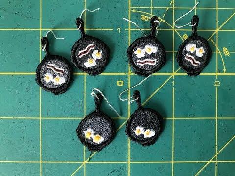 FSL Earring – Free Standing Lace Earrings