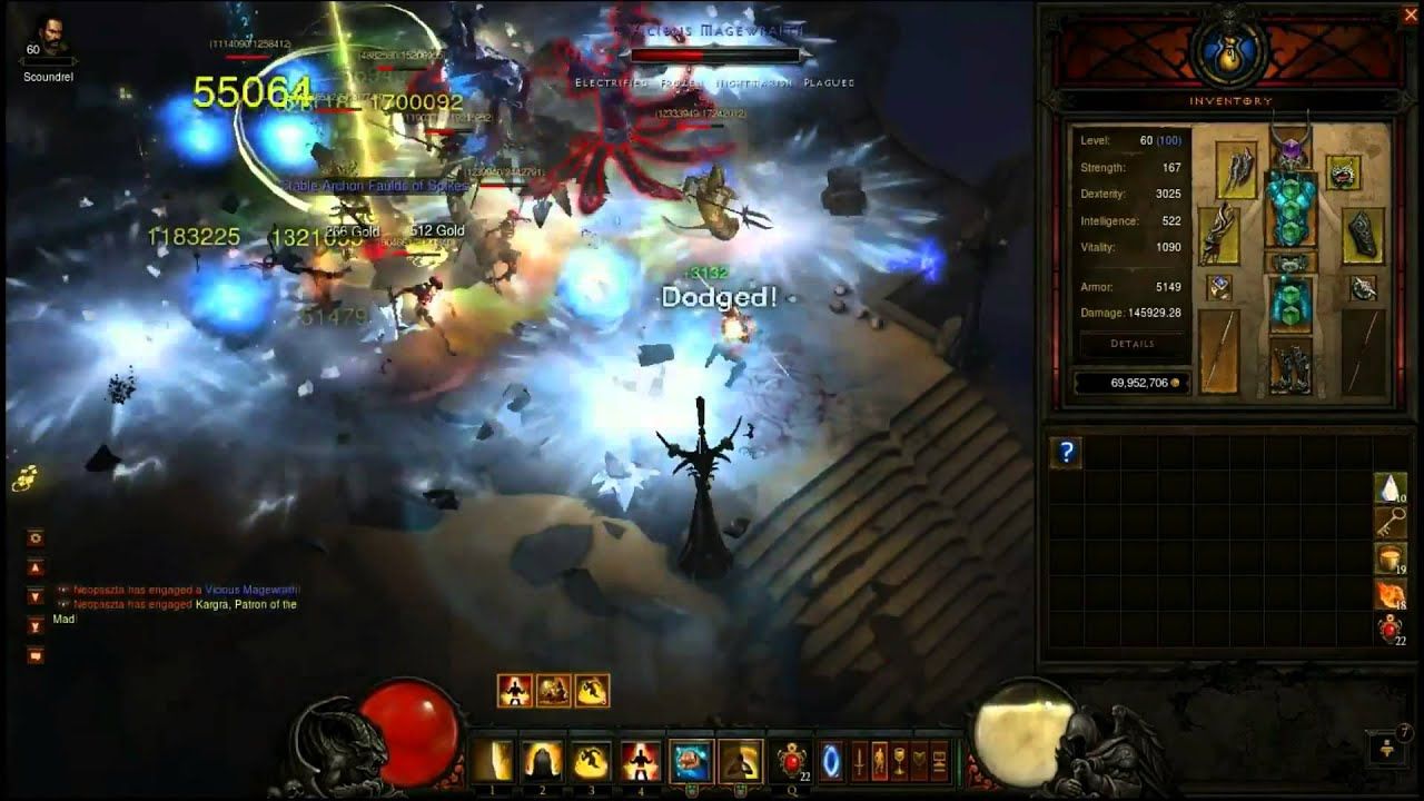 Download Diablo III Monk - Flying Nirvana (elite nuking) 1.08