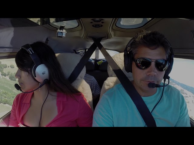 Flying with Tony Arbini into the Boonville Airport(D83)- Boonville, California (LandingPatterns)