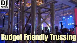 Light Weight Economy DJ Lighting Trussing with KTruss from Pro X Direct