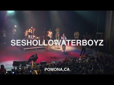 Chris Travis   SESHOLLOWATERBOYZ - 9K Freestyle Live @ Fox Pomona 07.16.2016