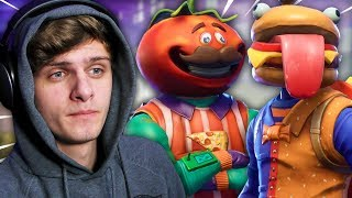 DE FOOD FIGHT LTM SPELEN! | Fortnite
