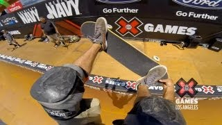 GoPro: Skate Vert Course Preview with Bucky Lasek – Summer X Games Los Angeles 2013