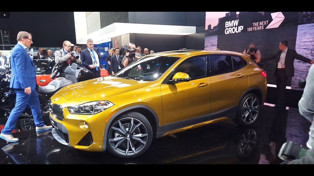 2018 BMW X2 - Walkaround, Features & Specifications - YouTube