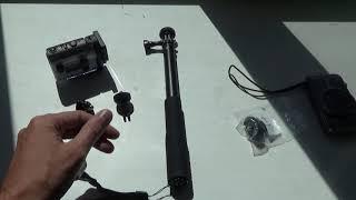 монопод и винтовое крепление для экшн камеры Sony