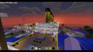 Minecraft Tutorial R.M.S Titanic [Part.1/3]
