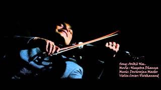Arikil Nee Undayirunnenkil - Violin Cover- Vivekanand