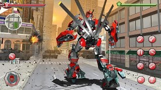 Helicopter Robot Game – Robot Transform 2018 (By Crazy Neuron Studio) Android Gameplay HD