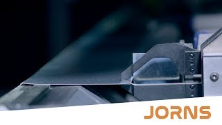 Jorns JDB double bending machine: Maximum flexibility thanks to flexible clamping system