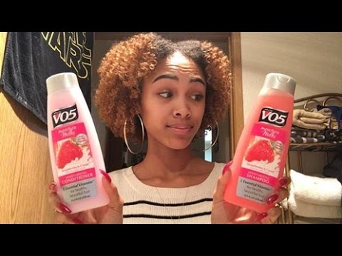 Is vo5 shampoo good for natural hair