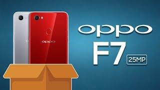 Mở hộp OPPO F7: 7.990.000đ, Selfie 25MP, Chip mạnh mẽ