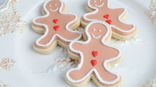 Gingerbread Men Cookies, Haniela's