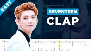 SEVENTEEN(세븐틴) - 박수(CLAP) acoustic guitar lesson and tab