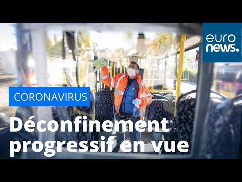Coronavirus en Europe: des perspectives de dé-confinement progressif