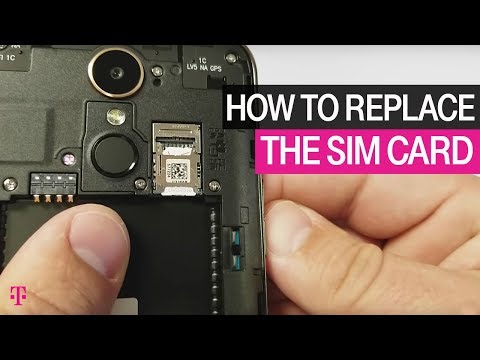 T-Mobile   How To Replace Your SIM Card   How To's
