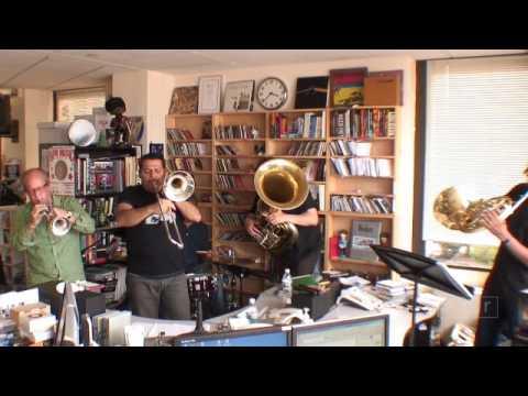 Dave Douglas Brass Ecstasy: NPR Music Tiny Desk Concert