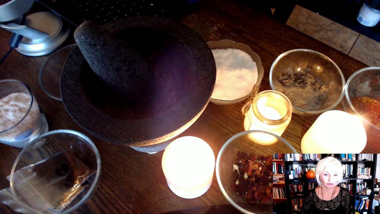 Witchy Kitchen Craft ~ Black Salt