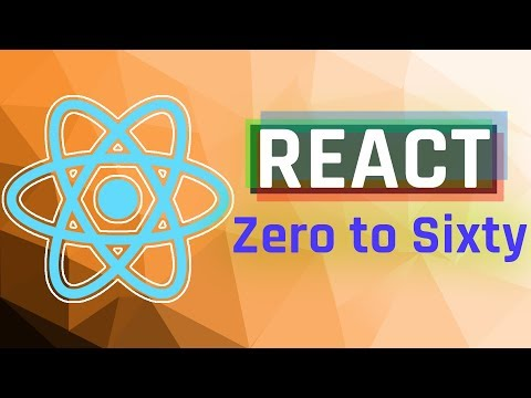 React Tutorial: Zero to Sixty (using Hooks) thumbnail