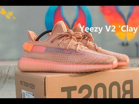 0b1ca1c83 UNBOXING HD REVIEW !!! Adidas Yeezy Boost 350 V2  Clay  - YouTube