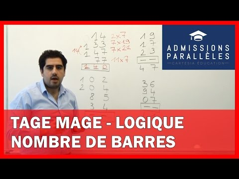 TAGE MAGE - LOGIQUE - Nombre de barres